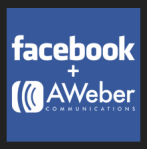 Add aweber to your facebook fan page